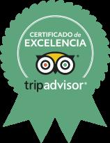 Tripadvisor certificado de excelencia